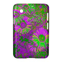 Amazing Neon Flowers A Samsung Galaxy Tab 2 (7 ) P3100 Hardshell Case  by MoreColorsinLife