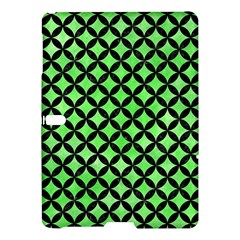 Circles3 Black Marble & Green Watercolor (r) Samsung Galaxy Tab S (10 5 ) Hardshell Case  by trendistuff
