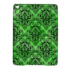 Damask1 Black Marble & Green Watercolor (r) Ipad Air 2 Hardshell Cases by trendistuff