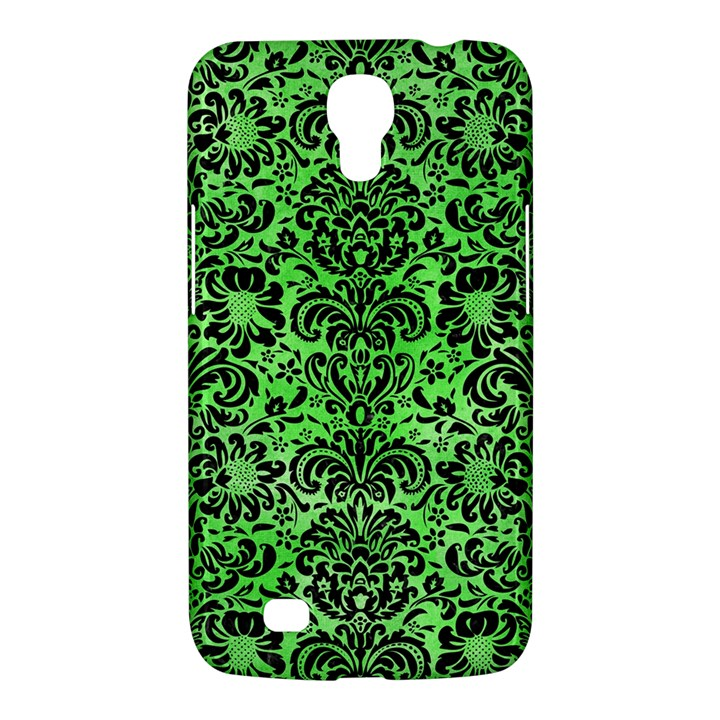 DAMASK2 BLACK MARBLE & GREEN WATERCOLOR (R) Samsung Galaxy Mega 6.3  I9200 Hardshell Case
