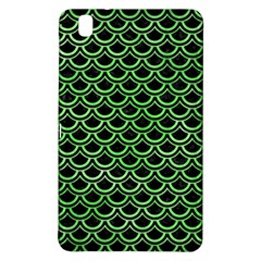 Scales2 Black Marble & Green Watercolor Samsung Galaxy Tab Pro 8 4 Hardshell Case by trendistuff
