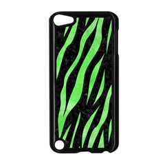Skin3 Black Marble & Green Watercolor Apple Ipod Touch 5 Case (black)
