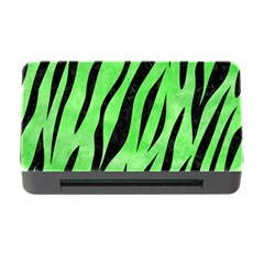 Skin3 Black Marble & Green Watercolor (r) Memory Card Reader With Cf by trendistuff