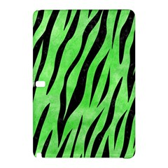 Skin3 Black Marble & Green Watercolor (r) Samsung Galaxy Tab Pro 12 2 Hardshell Case by trendistuff