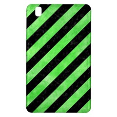Stripes3 Black Marble & Green Watercolor Samsung Galaxy Tab Pro 8 4 Hardshell Case by trendistuff