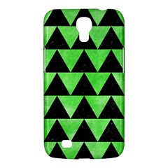 Triangle2 Black Marble & Green Watercolor Samsung Galaxy Mega 6 3  I9200 Hardshell Case by trendistuff
