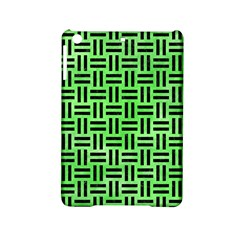 Woven1 Black Marble & Green Watercolor (r) Ipad Mini 2 Hardshell Cases by trendistuff