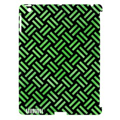 Woven2 Black Marble & Green Watercolor Apple Ipad 3/4 Hardshell Case (compatible With Smart Cover) by trendistuff