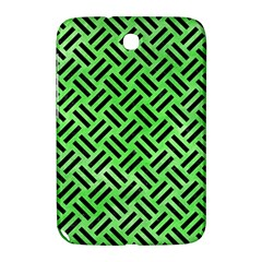 Woven2 Black Marble & Green Watercolor (r) Samsung Galaxy Note 8 0 N5100 Hardshell Case  by trendistuff