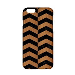 Chevron2 Black Marble & Light Maple Wood Apple Iphone 6/6s Hardshell Case by trendistuff