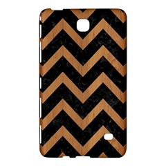 Chevron9 Black Marble & Light Maple Wood Samsung Galaxy Tab 4 (7 ) Hardshell Case  by trendistuff