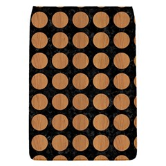 Circles1 Black Marble & Light Maple Wood Flap Covers (s)  by trendistuff