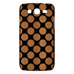Circles2 Black Marble & Light Maple Wood Samsung Galaxy Mega 5 8 I9152 Hardshell Case  by trendistuff
