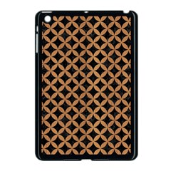 Circles3 Black Marble & Light Maple Wood Apple Ipad Mini Case (black)