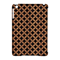 Circles3 Black Marble & Light Maple Wood Apple Ipad Mini Hardshell Case (compatible With Smart Cover) by trendistuff