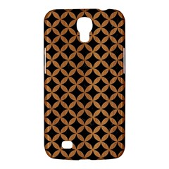 Circles3 Black Marble & Light Maple Wood Samsung Galaxy Mega 6 3  I9200 Hardshell Case by trendistuff