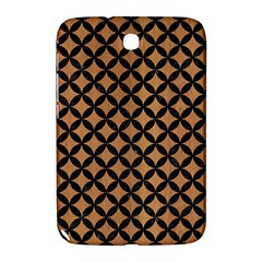 Circles3 Black Marble & Light Maple Wood (r) Samsung Galaxy Note 8 0 N5100 Hardshell Case  by trendistuff