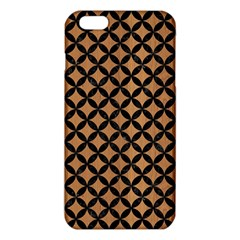 Circles3 Black Marble & Light Maple Wood (r) Iphone 6 Plus/6s Plus Tpu Case by trendistuff