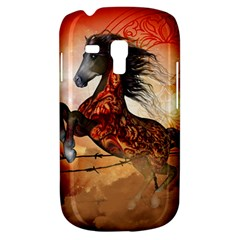 Awesome Creepy Running Horse With Skulls Galaxy S3 Mini by FantasyWorld7