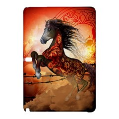Awesome Creepy Running Horse With Skulls Samsung Galaxy Tab Pro 10 1 Hardshell Case by FantasyWorld7