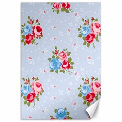 Cute Shabby Chic Floral Pattern Canvas 20  X 30   by 8fugoso