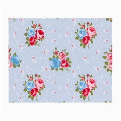 Cute Shabby Chic Floral Pattern Small Glasses Cloth (2 Side) by 8fugoso