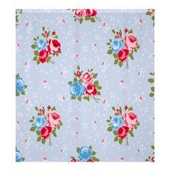 Cute Shabby Chic Floral Pattern Shower Curtain 66  X 72  (large)  by 8fugoso