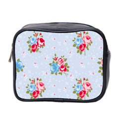 Cute Shabby Chic Floral Pattern Mini Toiletries Bag 2 Side by 8fugoso