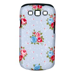 Cute Shabby Chic Floral Pattern Samsung Galaxy S Iii Classic Hardshell Case (pc+silicone) by 8fugoso