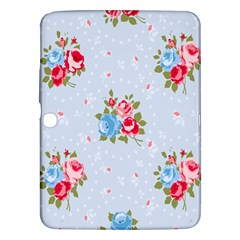 Cute Shabby Chic Floral Pattern Samsung Galaxy Tab 3 (10 1 ) P5200 Hardshell Case  by 8fugoso