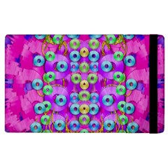 Festive Metal And Gold In Pop Art Apple Ipad 3/4 Flip Case by pepitasart