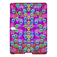 Festive Metal And Gold In Pop Art Samsung Galaxy Tab S (10 5 ) Hardshell Case  by pepitasart