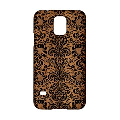 Damask2 Black Marble & Light Maple Wood (r) Samsung Galaxy S5 Hardshell Case  by trendistuff