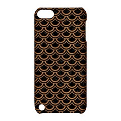 Scales2 Black Marble & Light Maple Wood Apple Ipod Touch 5 Hardshell Case With Stand by trendistuff