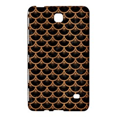Scales3 Black Marble & Light Maple Wood Samsung Galaxy Tab 4 (7 ) Hardshell Case  by trendistuff