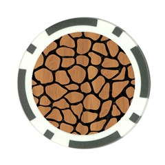 Skin1 Black Marble & Light Maple Wood Poker Chip Card Guard (10 Pack) by trendistuff