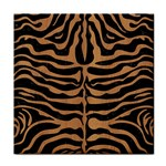 SKIN2 BLACK MARBLE & LIGHT MAPLE WOOD Face Towel Front