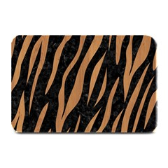 Skin3 Black Marble & Light Maple Wood Plate Mats by trendistuff