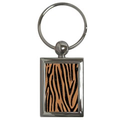 Skin4 Black Marble & Light Maple Wood Key Chains (rectangle)  by trendistuff