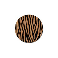 Skin4 Black Marble & Light Maple Wood (r) Golf Ball Marker (10 Pack) by trendistuff