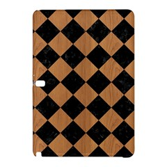 Square2 Black Marble & Light Maple Wood Samsung Galaxy Tab Pro 12 2 Hardshell Case by trendistuff