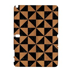 Triangle1 Black Marble & Light Maple Wood Galaxy Note 1 by trendistuff