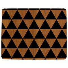 Triangle3 Black Marble & Light Maple Wood Jigsaw Puzzle Photo Stand (rectangular)