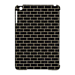 Brick1 Black Marble & Light Sand Apple Ipad Mini Hardshell Case (compatible With Smart Cover) by trendistuff