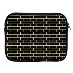 Brick1 Black Marble & Light Sand Apple Ipad 2/3/4 Zipper Cases by trendistuff
