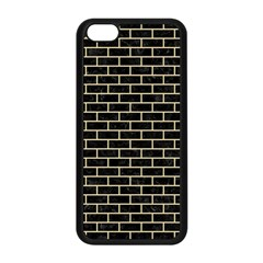 Brick1 Black Marble & Light Sand Apple Iphone 5c Seamless Case (black) by trendistuff