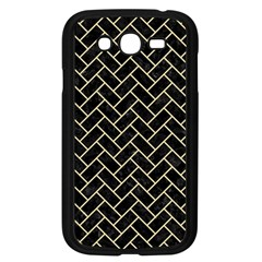 Brick2 Black Marble & Light Sand Samsung Galaxy Grand Duos I9082 Case (black) by trendistuff
