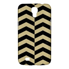 Chevron2 Black Marble & Light Sand Samsung Galaxy Mega 6 3  I9200 Hardshell Case by trendistuff