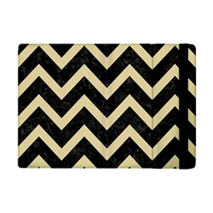 Chevron9 Black Marble & Light Sand Ipad Mini 2 Flip Cases by trendistuff