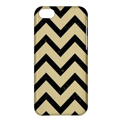 Chevron9 Black Marble & Light Sand (r) Apple Iphone 5c Hardshell Case by trendistuff